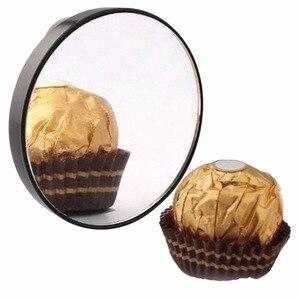 Горячее косметическое зеркало 5X 10X 15X увеличительное зеркало с двумя присосками косметические инструменты мини круглое зеркало для ванной ...