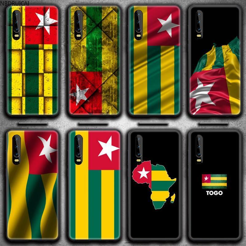 Чехол для телефона Togo с флагом для Huawei P20 P30 P40 lite E Pro Mate 30 20 Pro P Smart 2020 P10