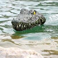 Радиоуправляемая голова крокодила для зачистки водоема от рыбаков-конкурентов. #1