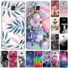 Soft Silicone TPU Case For Samsung Galaxy A3 A5 A6 A7 A8 2016 2017 2018 Back Case For Samsung A750 A520 A510 A530 Phone Cove
