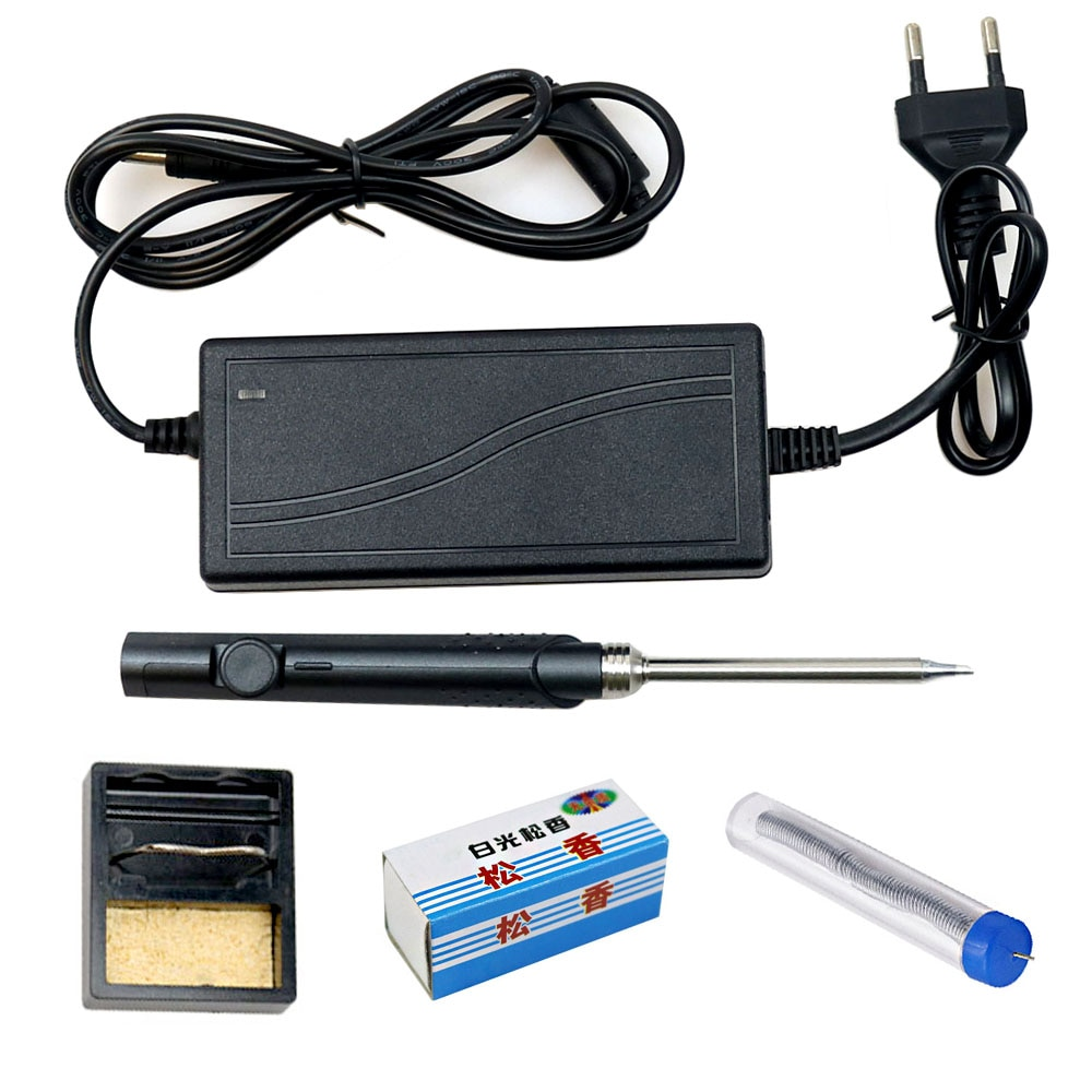 SH72 Electric Soldering Iron 65W MINI portable adjustable temperature welding solder station DC5525 24V Power Supply