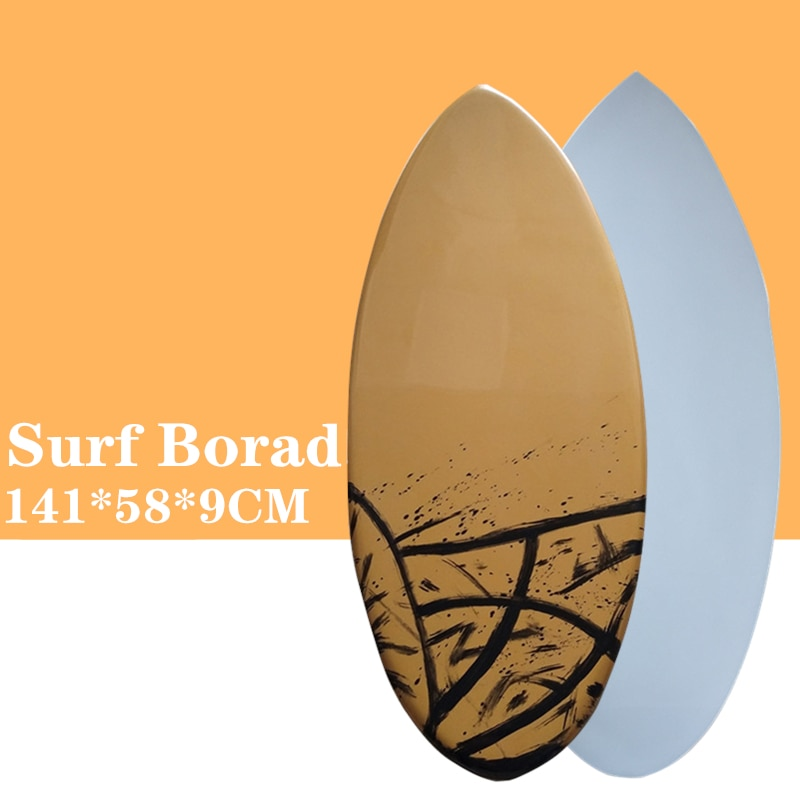 Skimboard  Surf board in Surfing 2021 New style Brown with Black color surfboard Let you have a great surfing experience.
