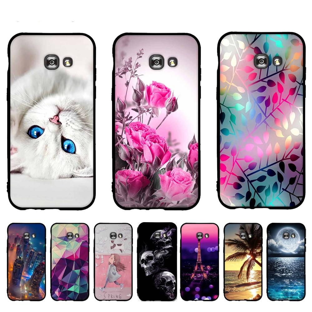 Funda de TPU para Samsung Galaxy A5 2017 SM-A520F A520 A520F funda de silicona suave para teléfono Samsung Galaxy A 5 2017