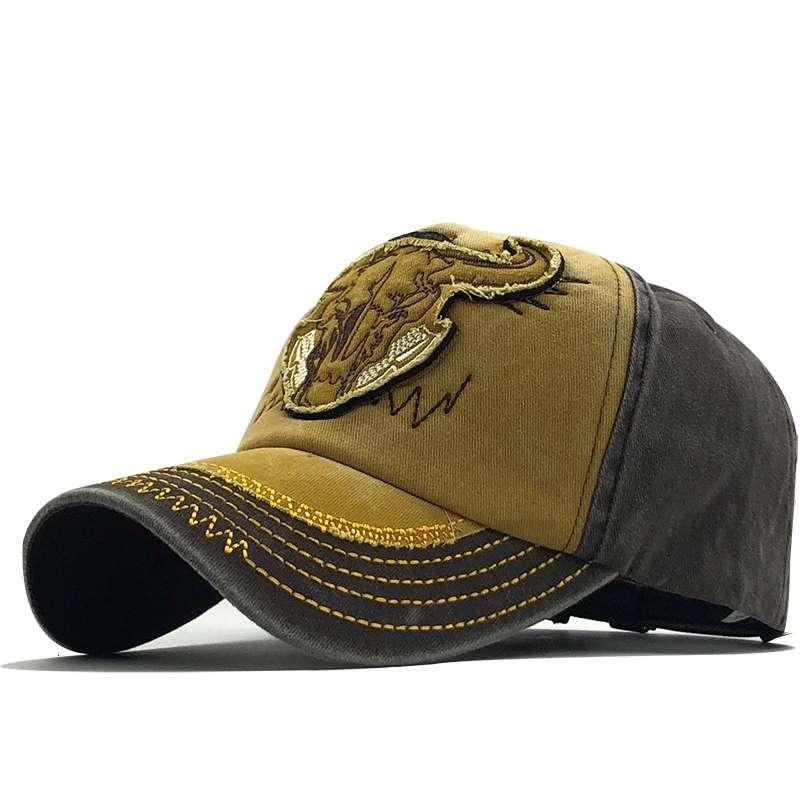 Новые кепки с вышивкой животных, Мужская бейсболка из 100% хлопка для женщин, женская повседневная Кепка, мужские бейсболки