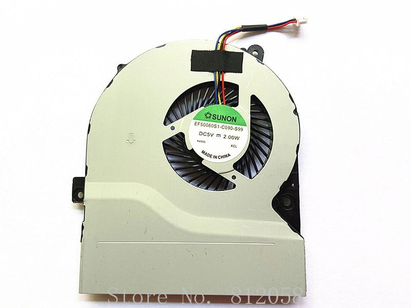 Nueva computadora portátil CPU ventilador de refrigeración para Asus S56 S56CA S56CB...