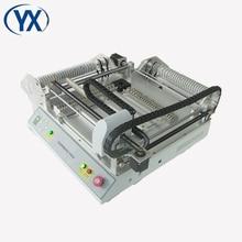Machine à puce BGA TVM802B choisir et placer la Machine avec les mangeoires de bâton SMT fournisseur imprimante de pâte à souder