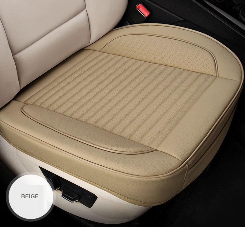 Cubierta universal de cuero de asiento de coche para mercedes benz c200 e300 w211 w203 w204 ML, Protector de cojín de coche para asientos de coche, Interior de coche