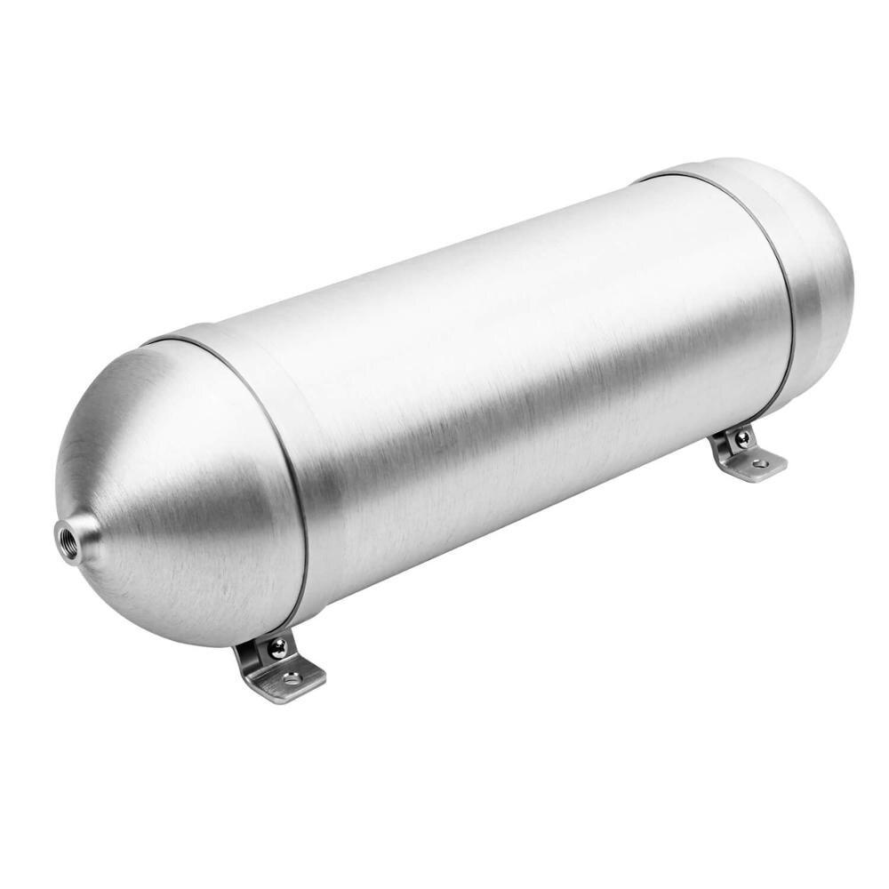 Cilindro de aire de aluminio de 5 galones, sin costura, tanque de aire, sistema de suspensión neumática, tunning de piezas de vehículo