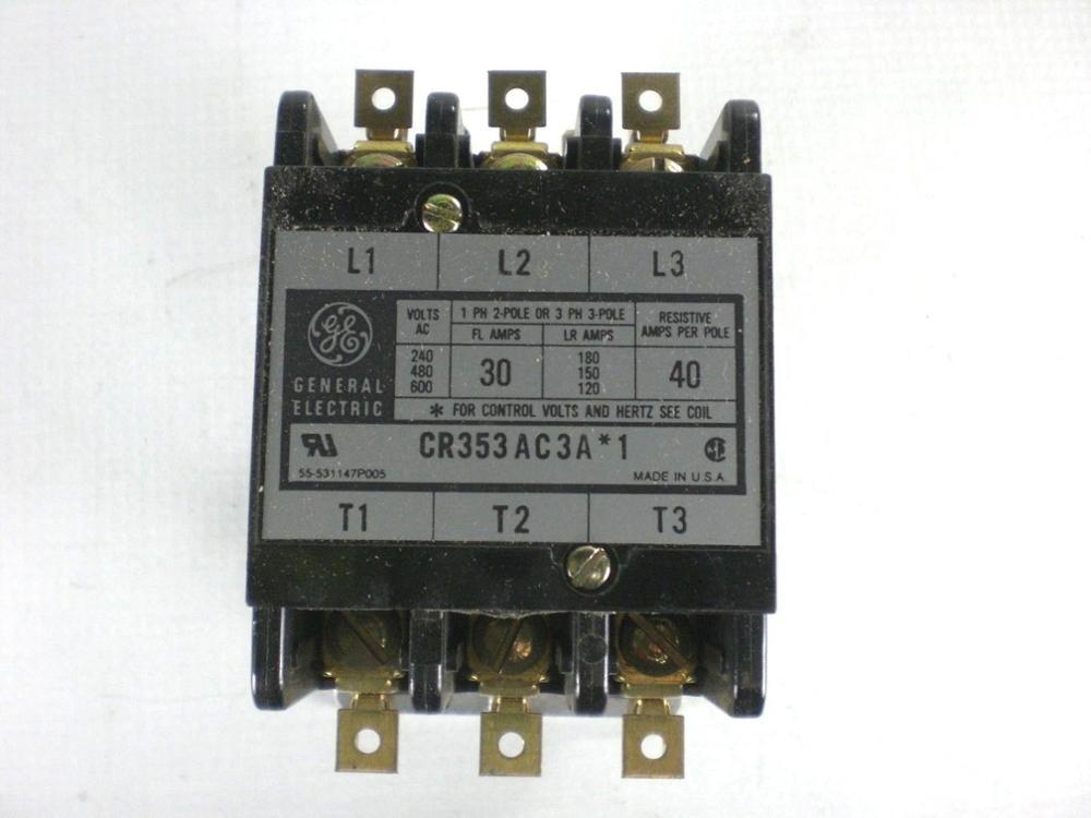 GE General-آلة قطع ضاغط تكييف الهواء ، موصل مكيف الهواء الخاص ، CR353AC3A * 1