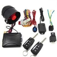 CHADWICK 8119 Car Alarm System for japanese car #2 flip key Universal Siren one-Way Auto Security Keyless Entry anti-theft new