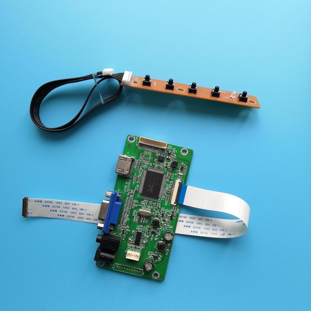 VGA 30pin ل LED LP156WF6(SP)(C1)/LP156WF6(SP)(B6) 1920X1080 15.6