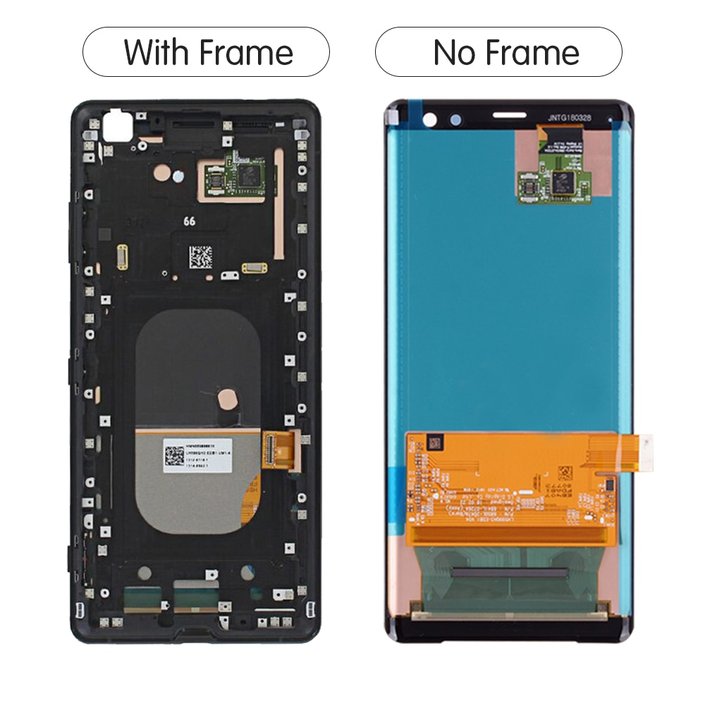 Original For SONY Xperia XZ3 LCD Touch Screen Digitizer Assembly For Sony Xperia XZ3 Display with Frame Replacement H8416 H9436 enlarge