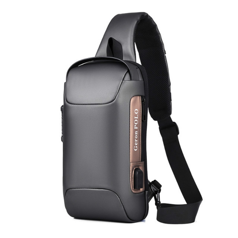 Brand Men's Waterproof Oxford Multifunction Crossbody Bag Anti-theft Shoulder Bags Short Trip Messenger Chest Bag Pack For Male new multifunction crossbody bag for men anti theft shoulder messenger bags male waterproof short trip chest bag male bag