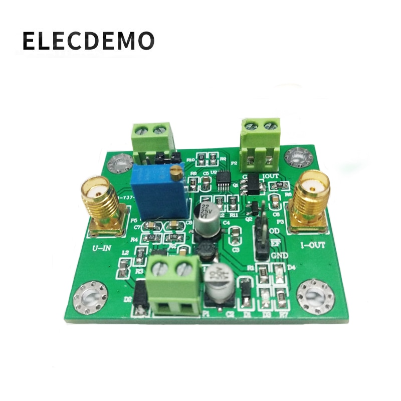 XTR111 Voltage to current module high precision current transmitter 0-5V to 0-25mA signal conversion ads1232 module 24 bit adc module high precision analog to digital conversion module ads1232ipw