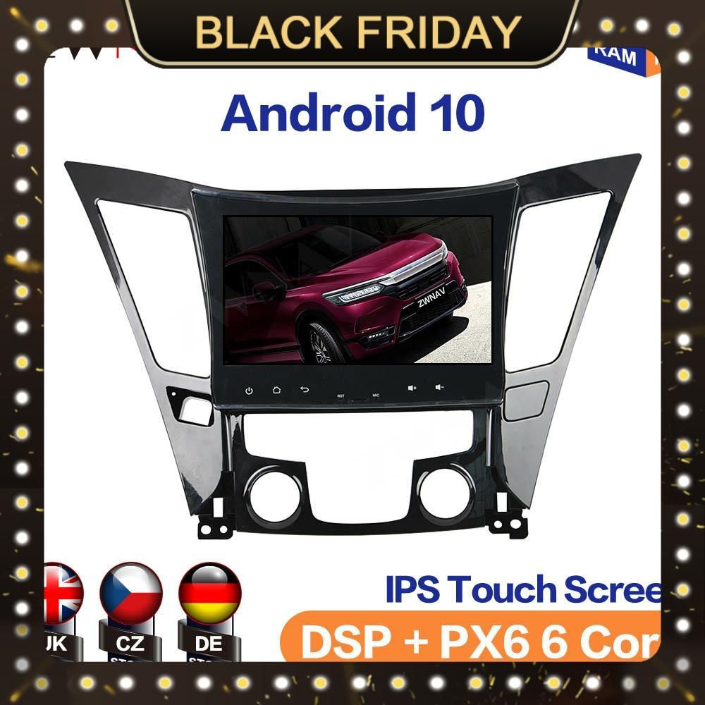 Android 10 4 + 128GB lecteur multimédia pour Hyundai SONATA 8 I40 I45 I50 YF 11 + Auto Radio GPS Navigation magnétophone unité principale