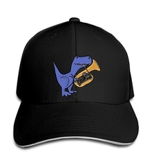 Baseball Cap New Men Summer Casuals Funny T Rex Dinosaur Playing Tuba Printed Men Style Snapback hat peaked