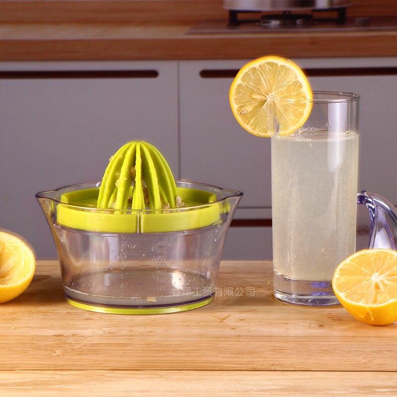 Фото - Соковыжималка для лимона, соковыжималка для сока, многофункциональная домашняя ручная соковыжималка, пластиковая соковыжималка для фрукт... соковыжималка