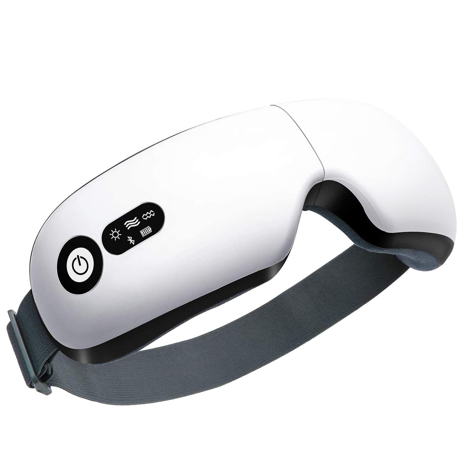 اللاسلكية الذكية وسادة هوائية الاهتزاز العين مدلك العناية بالعين متعددة المراحل الساخن ضغط بلوتوث الموسيقى يخفف التعب والدوائر السوداء