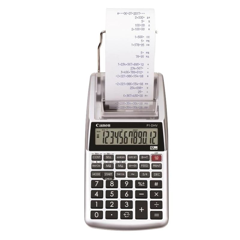 آلة حاسبة لمخرج الورق ، آلة حاسبة للطباعة المالية ، حساب البنك ، P1dhvg ، عجلة الحبر ، آلة حاسبة للطباعة أحادية اللون
