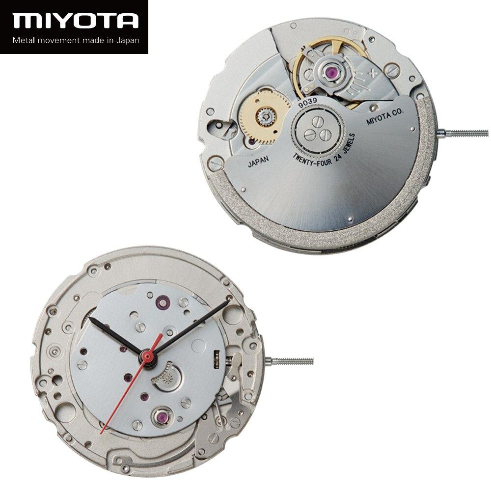 MIYOTA 9039 Japan Luxury Skeleton Mechanical Movement Top Quality Brand Clock Automatic Mechanism clock Watch Parts 24 Jewels enlarge