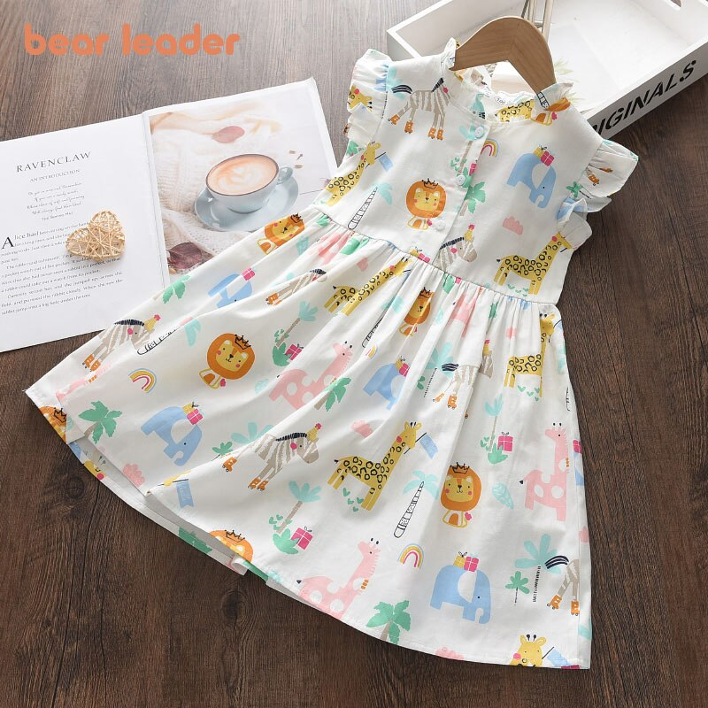 aliexpress.com - Bear Leader Cartoon Print Baby Girls Princess Dress New Fashion Summer Floral Dresses Toddler Kid Party Clothes Children Vestido