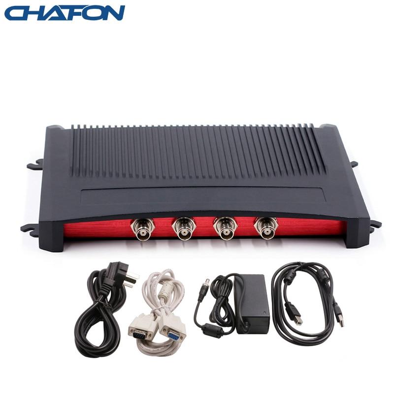 Rfid-считыватель CHAFON 15 м Impinj R2000 с 4 антенными портами RS232 TCPIP USB uhf writer free sdk для управления складом