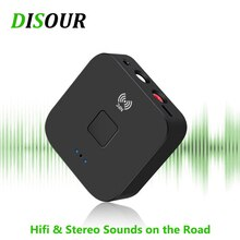 DISOUR RCA NFC 5.0 Bluetooth Audio Receiver 3.5mm Aux Jack Stereo HIFI Music Wireless Adapter For Ca