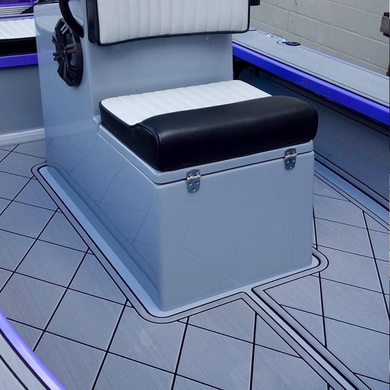 Custom Anti Slip Marine Floor Damping Sport Swim Platform Pad Boat EVA Teak Decking 1/4