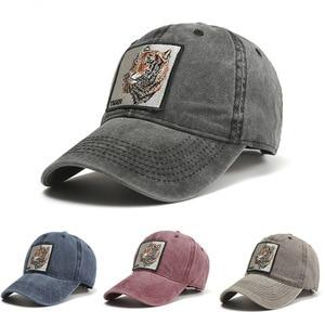 New Style Retro Baseball Men And Women Casual Baseball Hats Fashion Cartoon Tigers Old Sun Hat