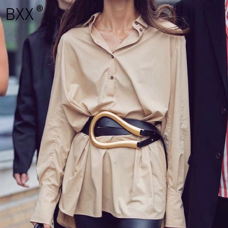 [BXX] 2021 Designer Belts Women High Quality Leather Belt For Dress Luxury Brand Fashion Waist Femme Style Waist Belt HJ717