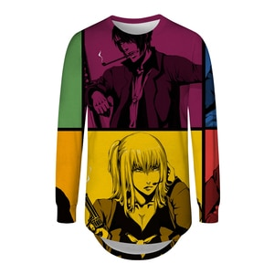 New Fashion 3D T Shirts Mens Anime Character GINTAMA Long Sleeve T Shirts Homme Casual Harajuku Polyester T Shirts Male S-5XL