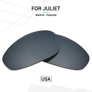 Mryok POLARIZED Replacement Lenses (from USA) for Oakley Juliet X-Metal Sunglasses Black Chrome