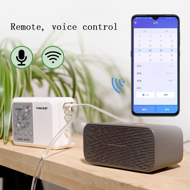 Phone Remote WIFI Voice Control Intelligent Watering Device Auto Drip Irrigation System Garden pots planter Water Pump Timer