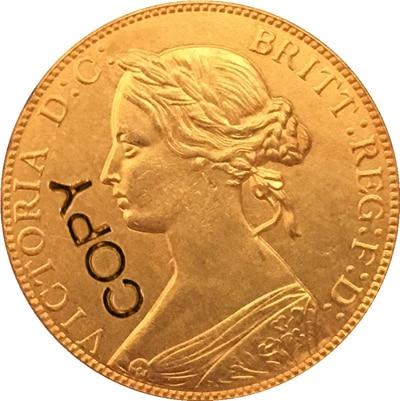 1861 monedas de Canadá copia 25,6 MM