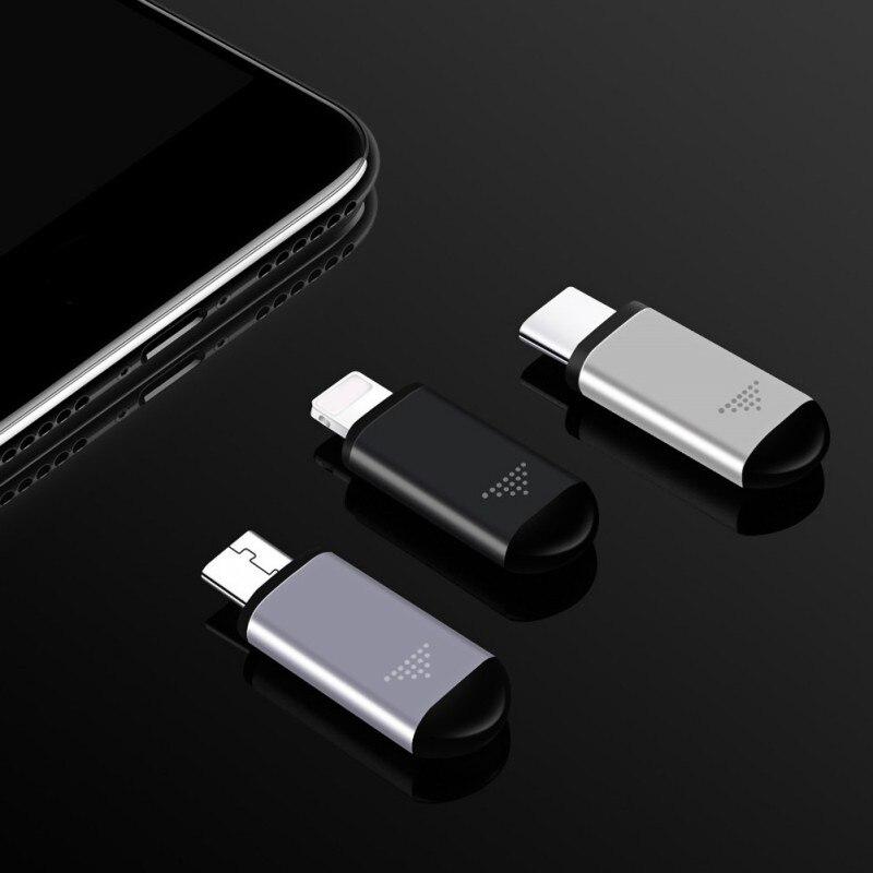 Полезные ИК приборы беспроводной инфракрасный пульт дистанционного управления Адаптер для IPhone/Micro USB/Type-C ИК Беспроводное управление