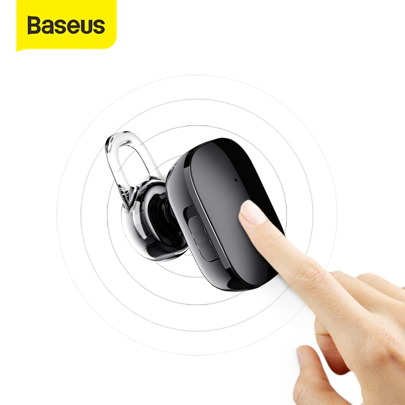 Baseus мини беспроводные Bluetooth наушники для iPhone X 8 Samsung S9 S8 In-Ear стерео беспроводные bluetooth-наушники с микрофоном