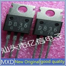 5Pcs/Lot New Original Original Genuine Imported Triode 2SD836 D836 Guaranteed quality, Shipped On Th