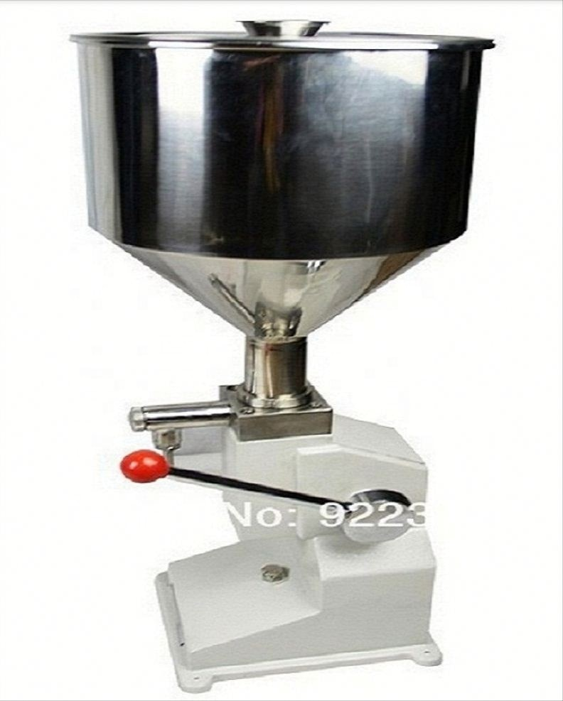 Economy small dose manual filling machine for toothpaste,ointment,hand cream (5-50ml) enlarge