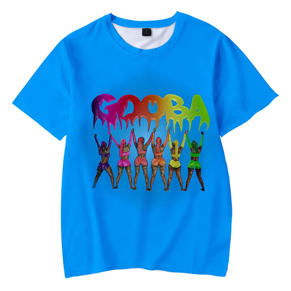 Camiseta creativa con estampado 3D para niños, camiseta a la Moda de Primavera/Verano de manga corta 6ix9ine 2020 6ix9ine, nueva camiseta para niños de Albume Gooba