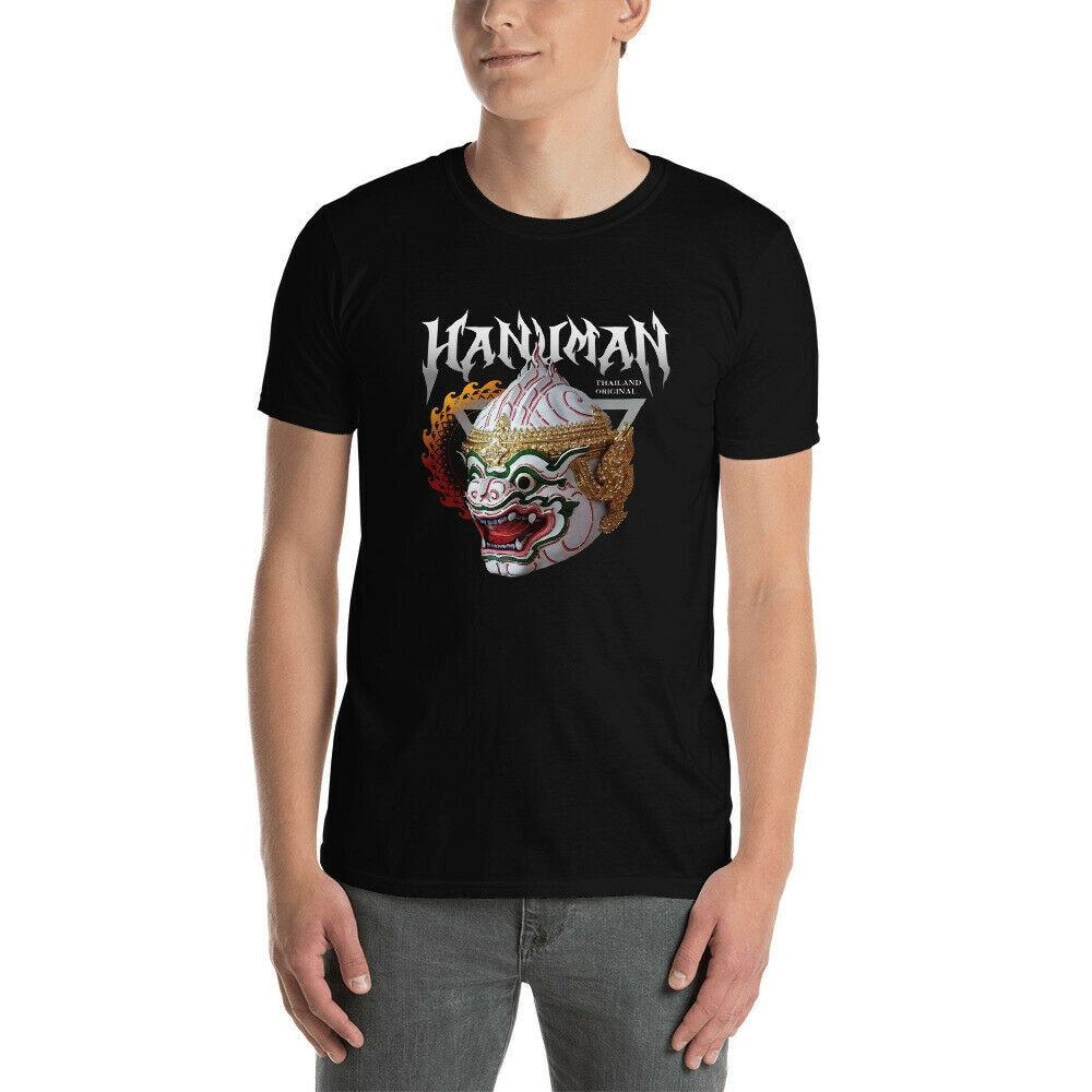 Thailand Original Thai Hanuman Ramahien Подарочная идея для мужчин футболка Летняя стильная повседневная одежда футболка