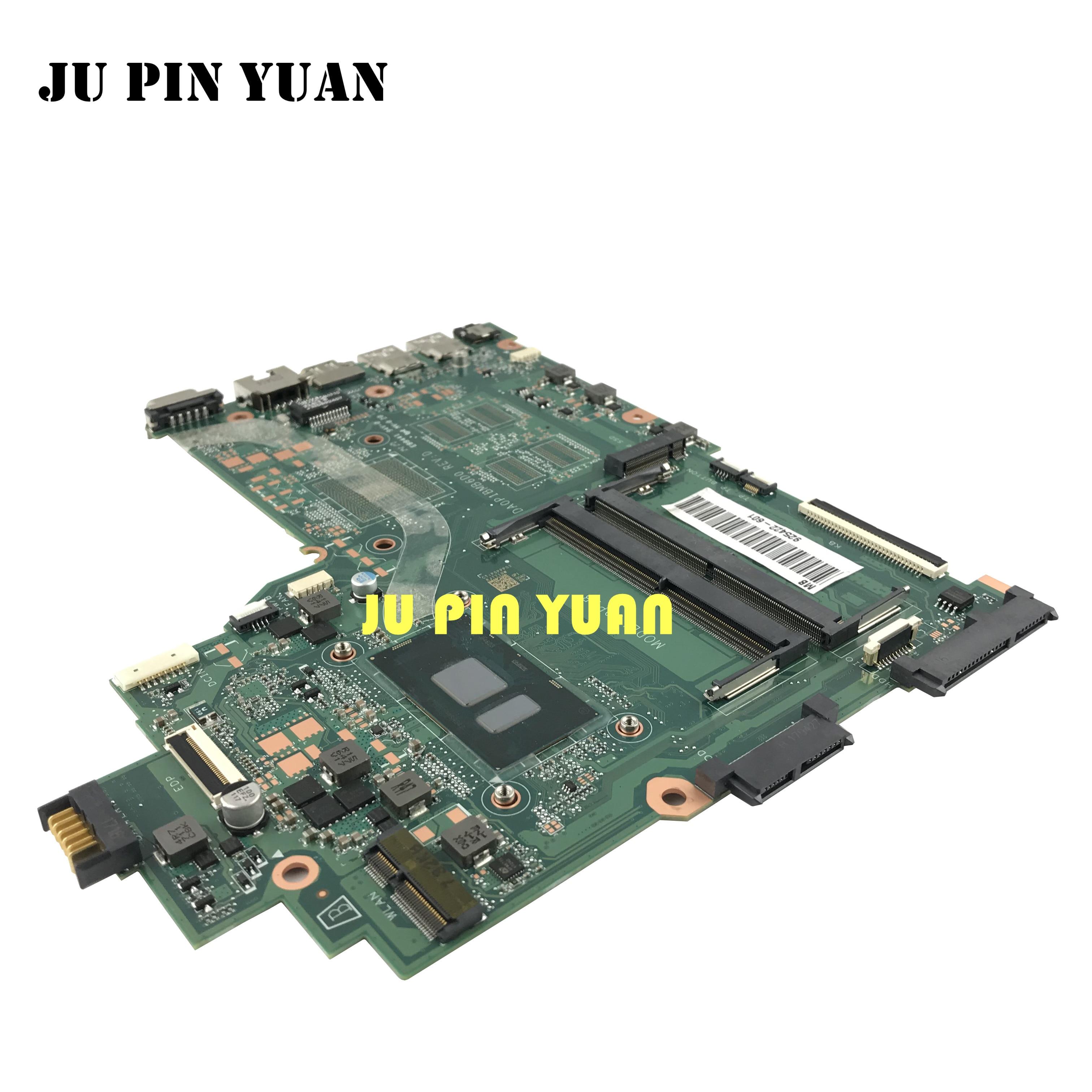 925422-601 925422-001 DA0P1BMB6D0 para HP 240 G6 14-BS series motherboard con i5-7200U CPU completamente probado