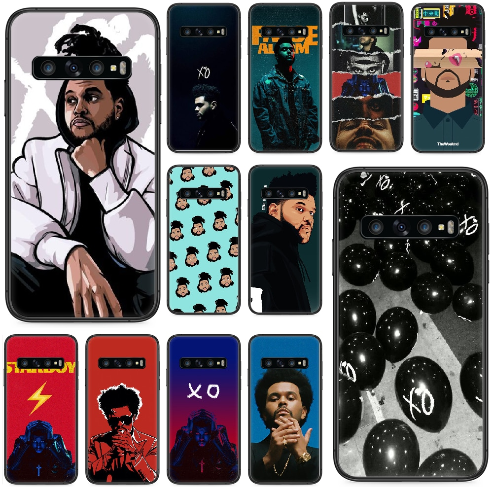 The Weeknd XO Phone case For Samsung Galaxy  S 10 20 3 4 5 6 7 8 9 Plus E Lite Uitra black prime art