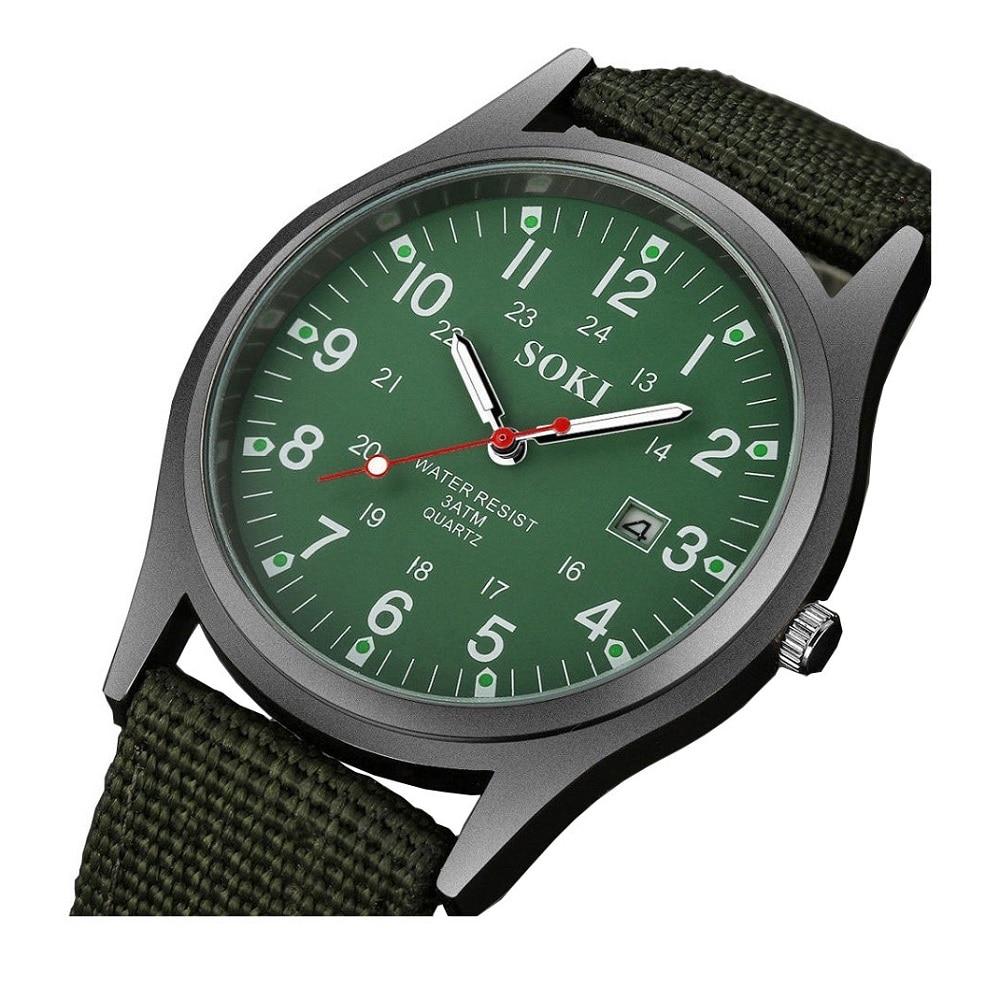 Men's Watches Ultra-Thin Military Wristwatch For Student Boy Child Gift Men Calendar Watch Quartz Cl