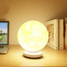 2020 NEW Moon Light 3D Night Light Switch Touch Control Romantic Desk Lamp for Birthday Bedroom Beds