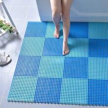 Hot pvc Bath Mats Rug 30X30cm massage carpet Safety Non-slip Mat for Shower Room WC balcony Kitchen floor Drain cover Feet Pad