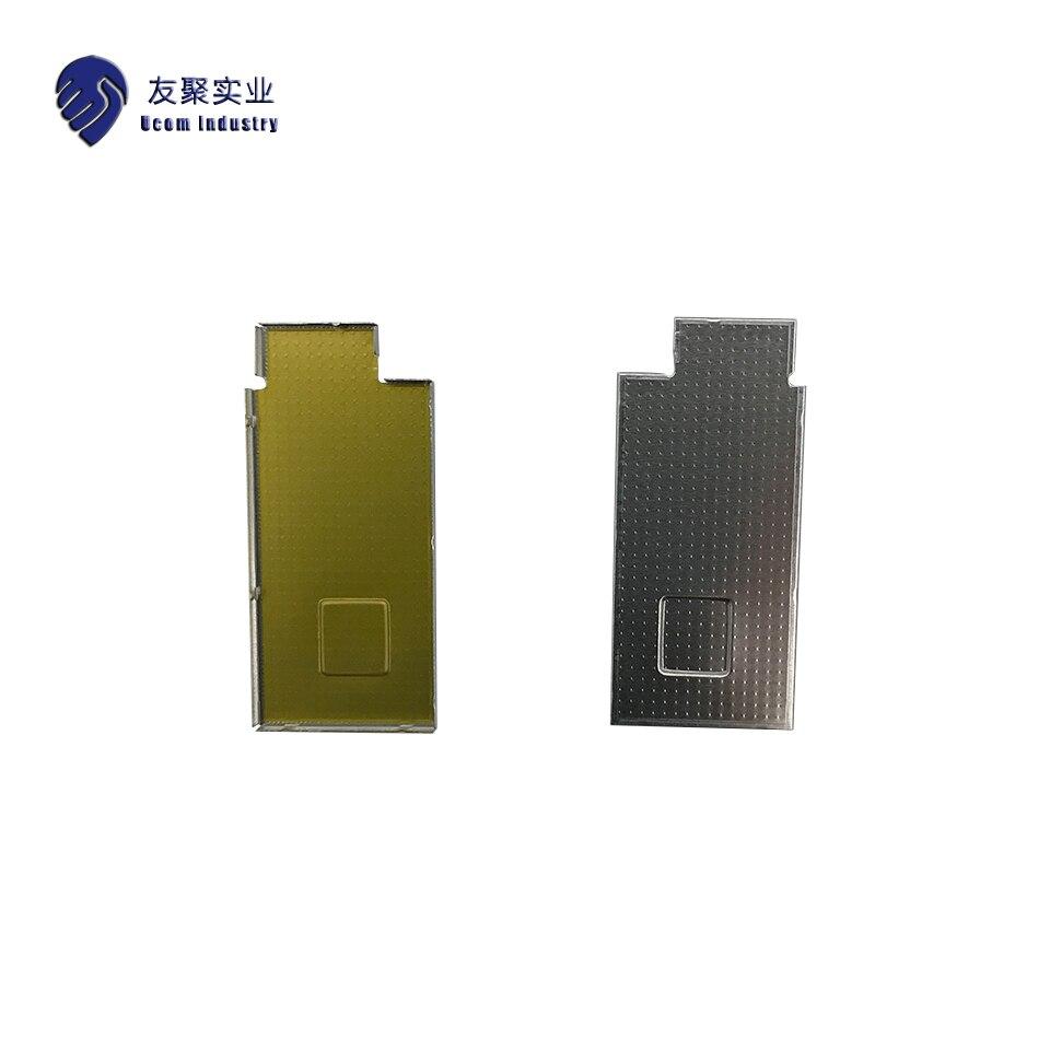 Emi rfi escudo pode espessura 0.2mm emi rfi blindagem caso níquel prata metal produção personalizada e processamento