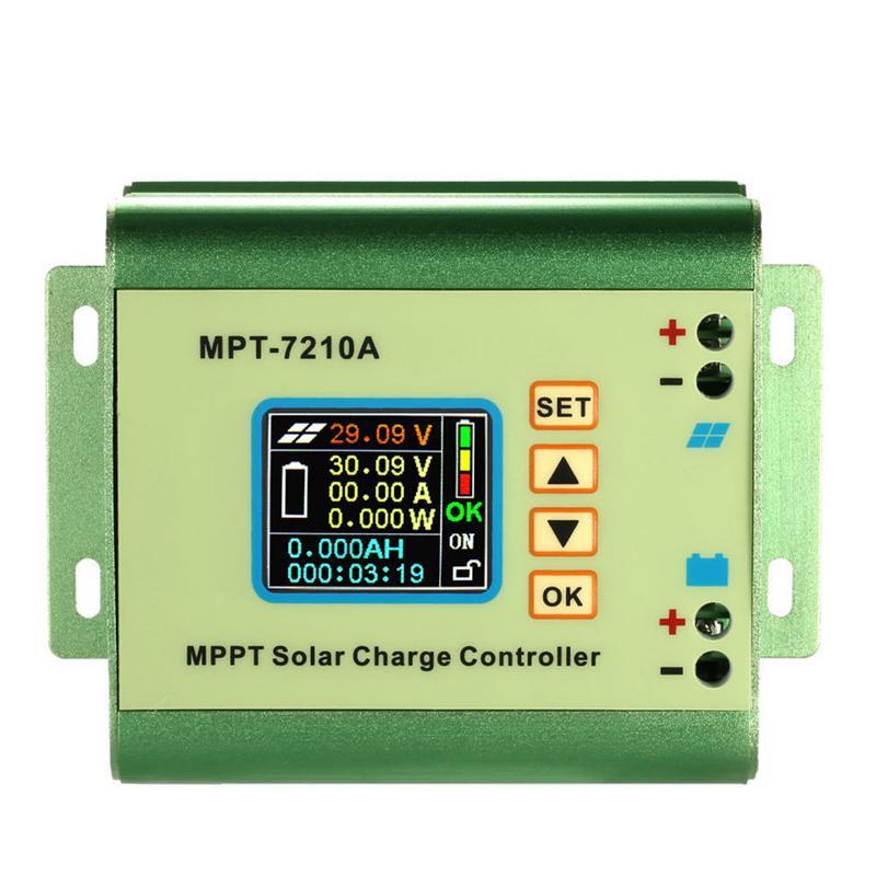 MPPT جهاز تحكم يعمل بالطاقة الشمسية الفولتميتر NC دفعة وحدة 24 فولت-72 فولت شاحن بطارية الواح البطاريات الشمسية منظم جهاز التحكم في الشحن