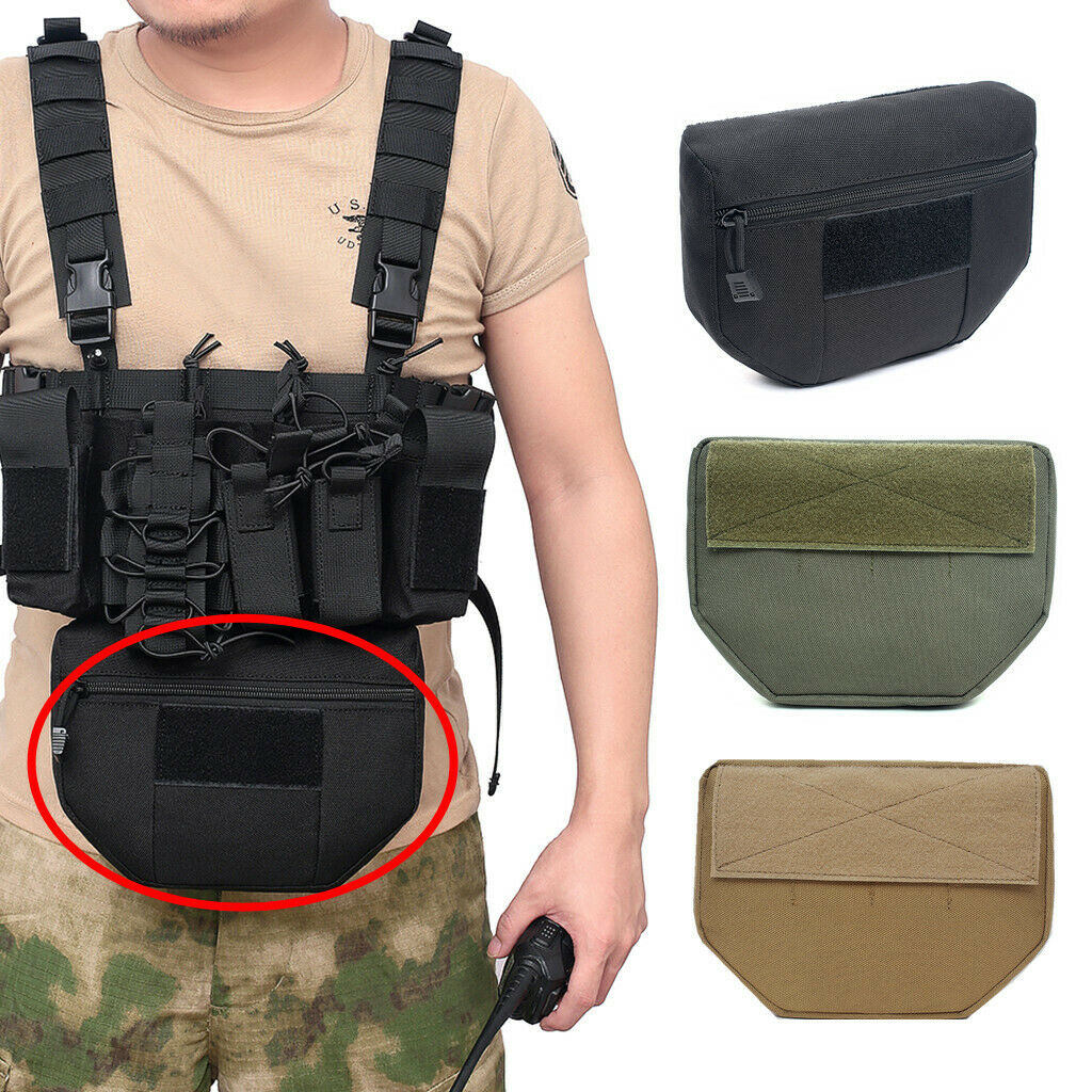 Tactical Armor Carrier Drop Molle Pouch AVS JPC CPC Vest Pouches Airsoft Militray Army Hunting Accessories Utility EDC Waist Bag army tactical carrier armor chest rig vest harness rifle pistol magazine pouch crx hunting equipment accessories 5 56