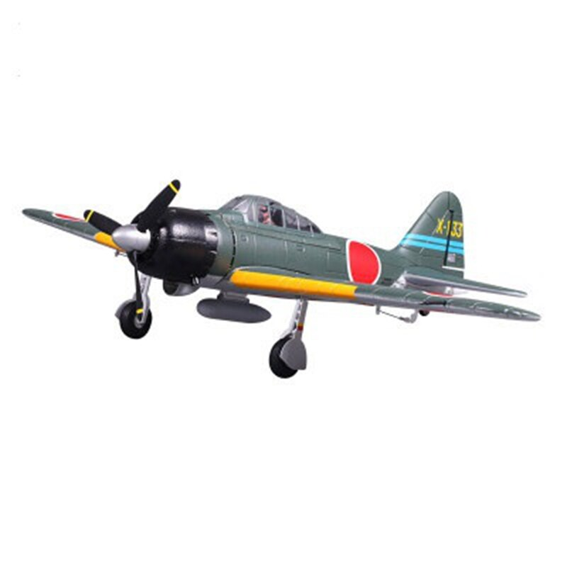 Modelo FMS 800 milímetro Zero V2 Lutador EPO RC Plane FMS036