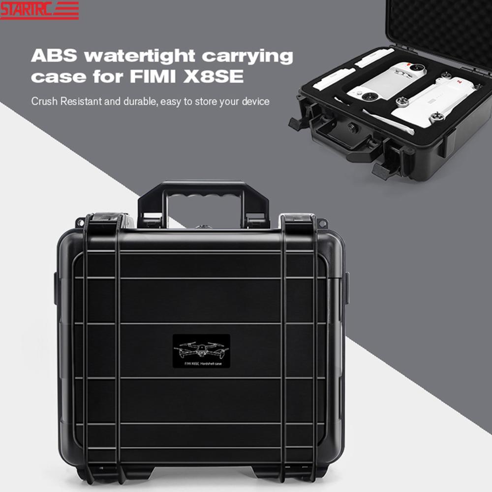 STARTRC FIMI X8SE للماء مربع تخزين حالة المحمولة حالة حمل ل FIMI X8SE 2020 Drone التوسع اكسسوارات